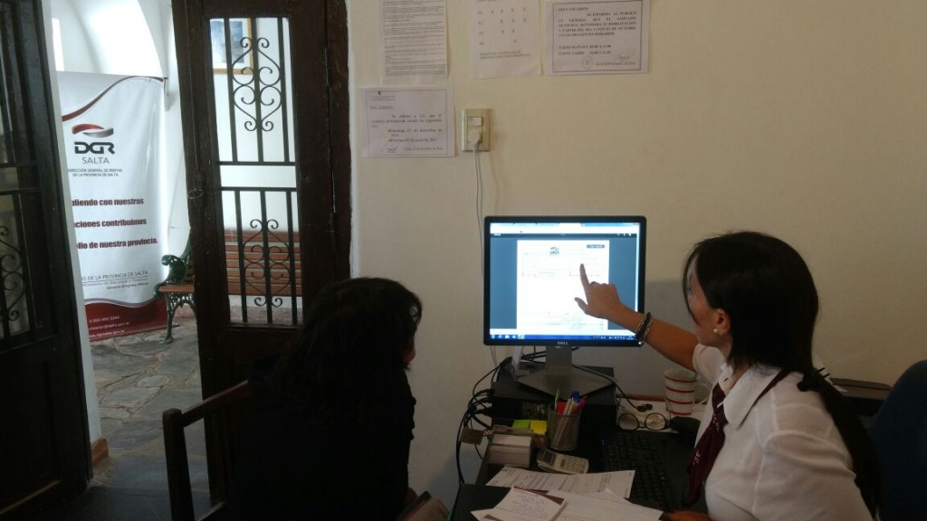 Rentas abrió una Oficina de Atención al Contribuyente en Cachi