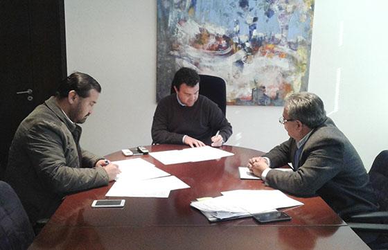 Realizarán obras de mejoras en un complejo deportivo de Rivadavia Banda Sur