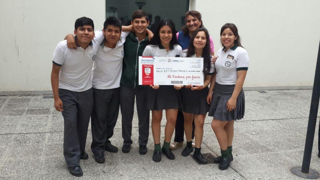"""""""Mi factura por favor"""": la escuela Martina Silva de Gurruchaga representará a Salta a nivel nacional"""