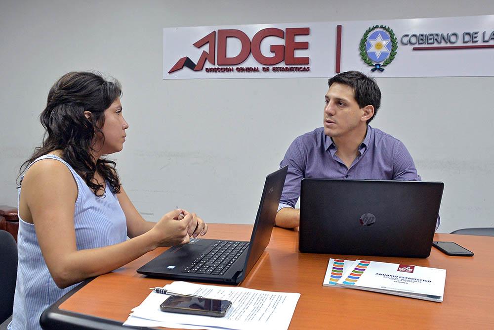 La nueva Directora de Estadísticas provincial se reunió con el representante regional del INDEC