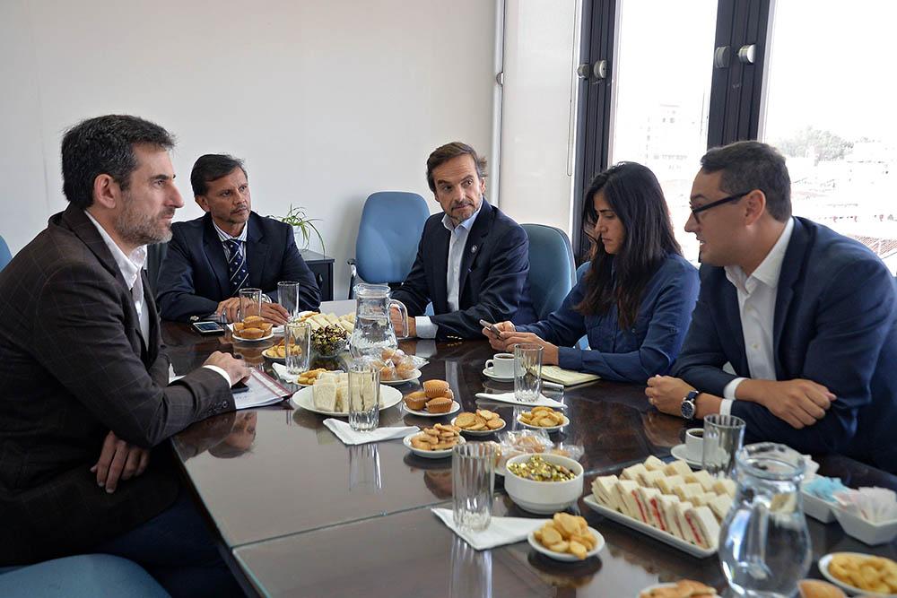 Autoridades provinciales se reunieron con la plana mayor de AFIP