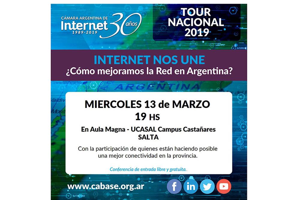 Hoy se realizará un encuentro sobre Desafíos de Internet en la Argentina