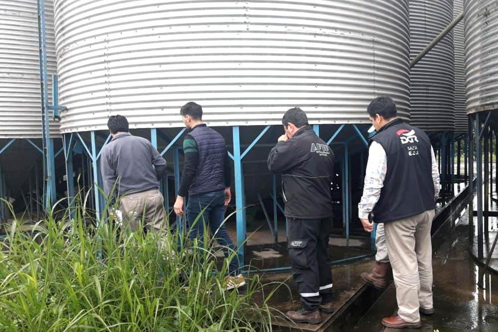Salvador Mazza: en un operativo conjunto Rentas clausuró un molino harinero