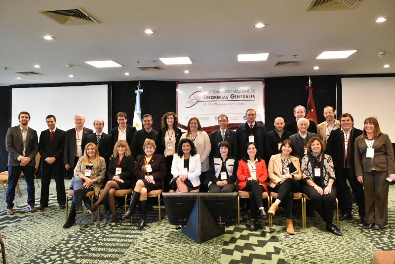 Representantes de las Tesorerías Generales del país se reunieron en Salta