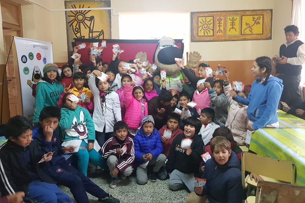 Ticketón visitó escuelas del Municipio de Cerrillos