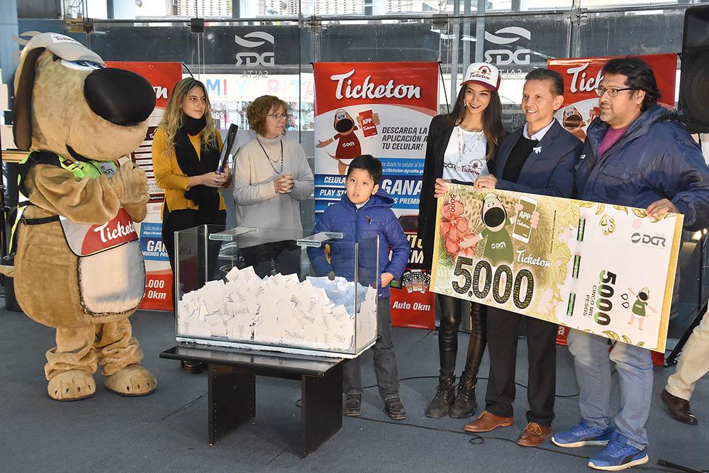 Se realizó con gran éxito el segundo sorteo de Ticketon