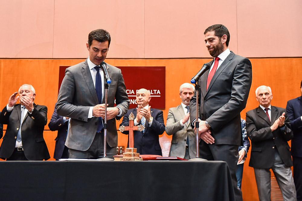 Asumió Javier Montero como nuevo ministro de Economía de la Provincia