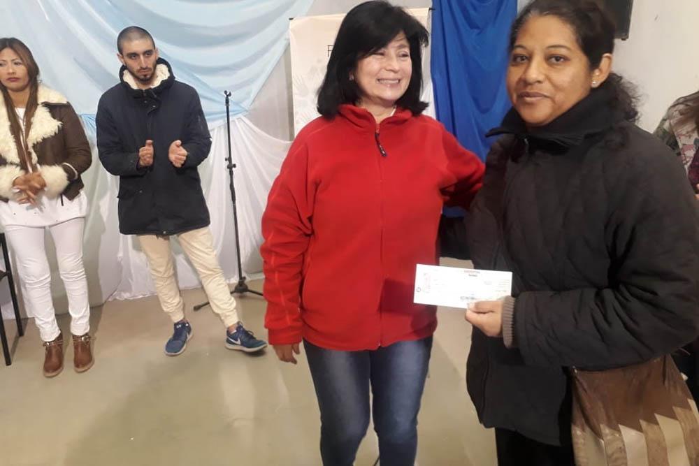 Emprendedoras del Valle de Lerma reciben nuevos microcréditos del Programa Finanzas Inclusivas