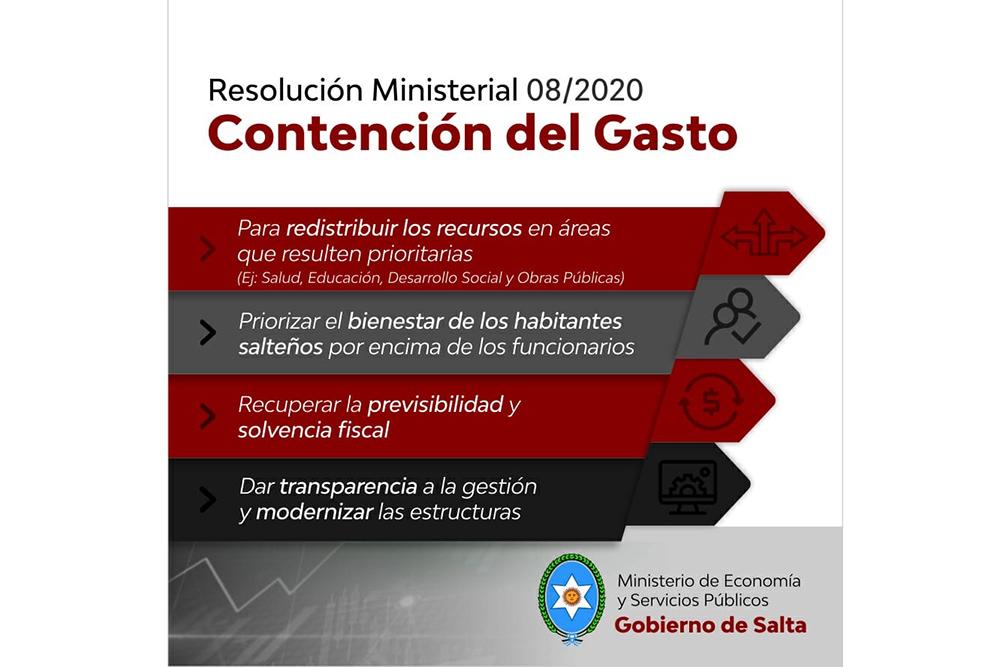La Provincia optimizará la redistribución de recursos en beneficio de los habitantes salteños