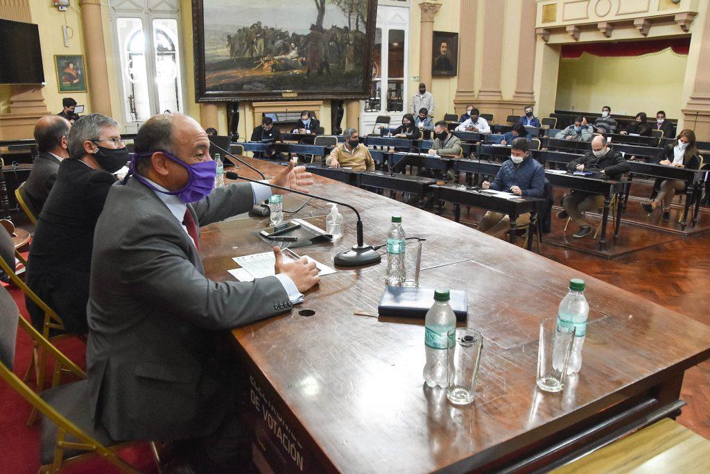 Dib Ashur informó a diputados las acciones económicas de la Provincia ante la pandemia Covid-19