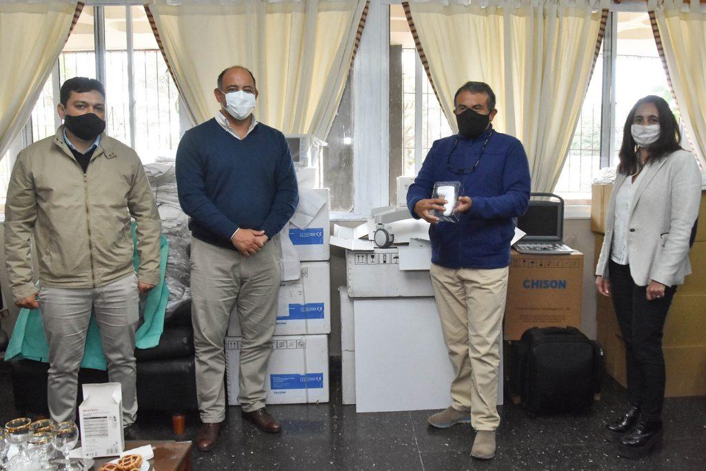 En Orán, Dib Ashur junto a la ministra Medrano realizó distintas actividades y brindó una conferencia de prensa