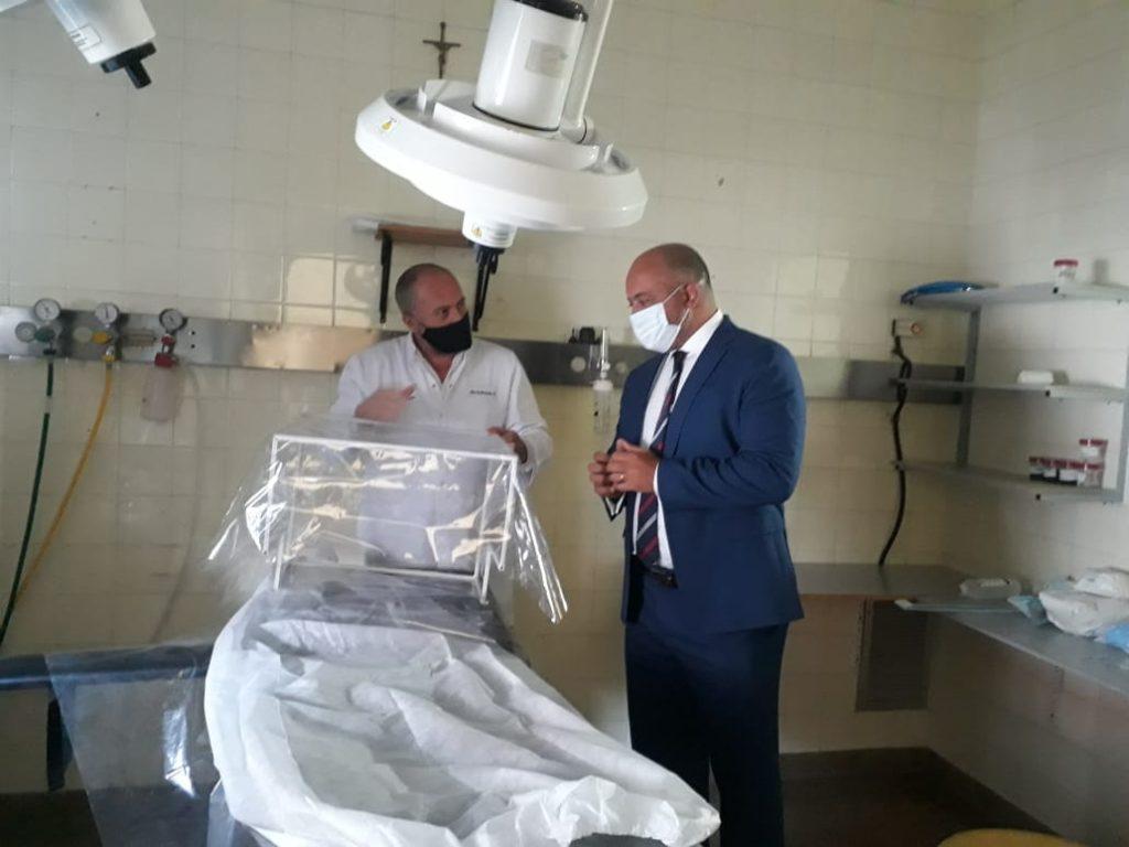 Continúan las visitas de autoridades del Ministerio de Economía a hospitales públicos