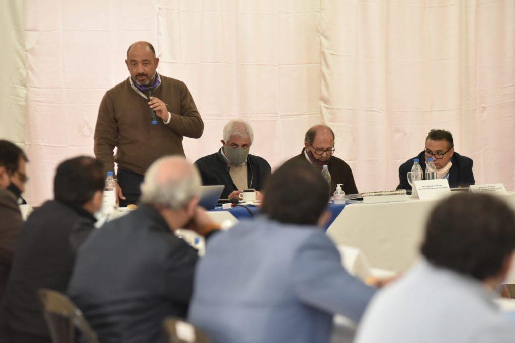 El Gobierno concretó con éxito un encuentro con intendentes de la región sur
