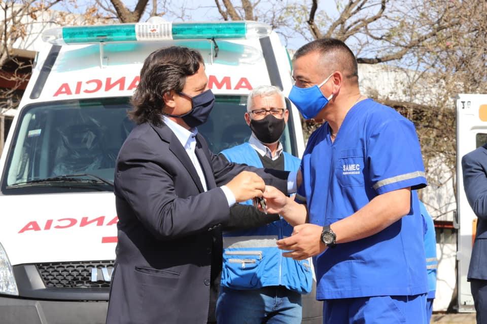 El Gobierno Provincial invirtió más de $2.000 millones en el área de salud para encarar la pandemia