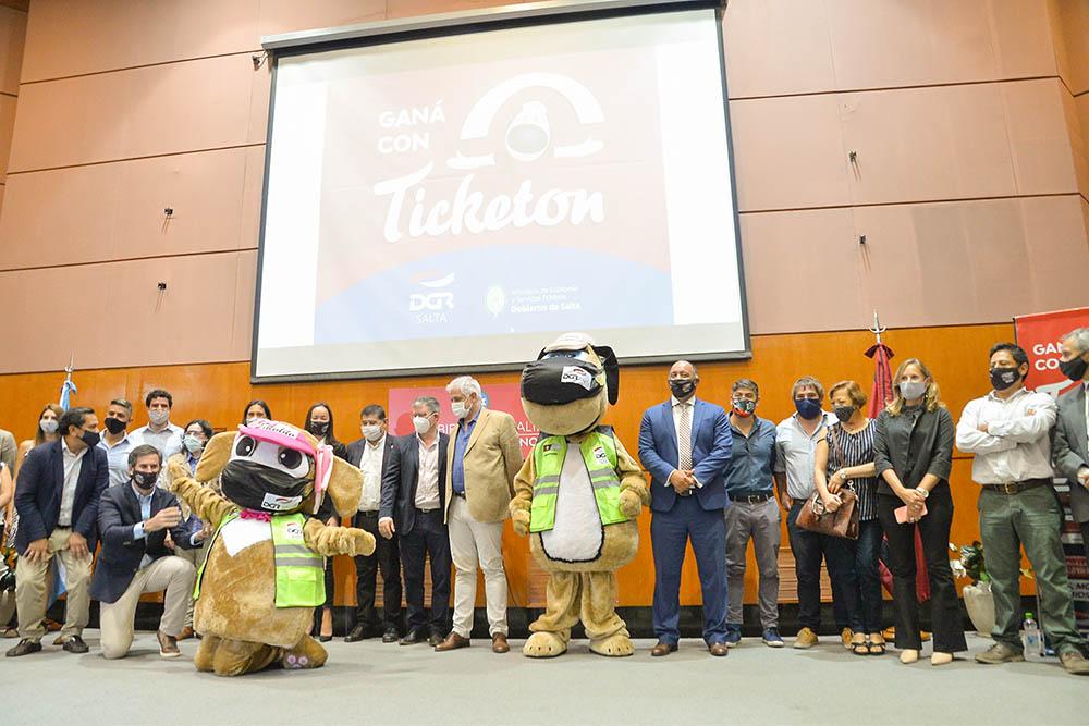 Lanzó el concurso Ticketon  para toda la provincia