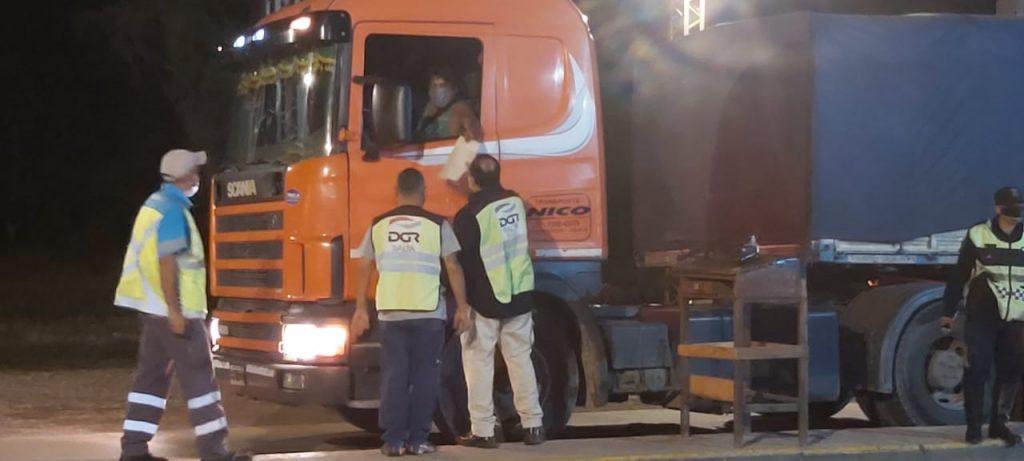 El puesto móvil de control de Rentas estuvo en Río las Pavas