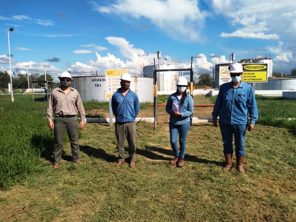 Continúan las inspecciones del área minera en distintos puntos de la Provincia