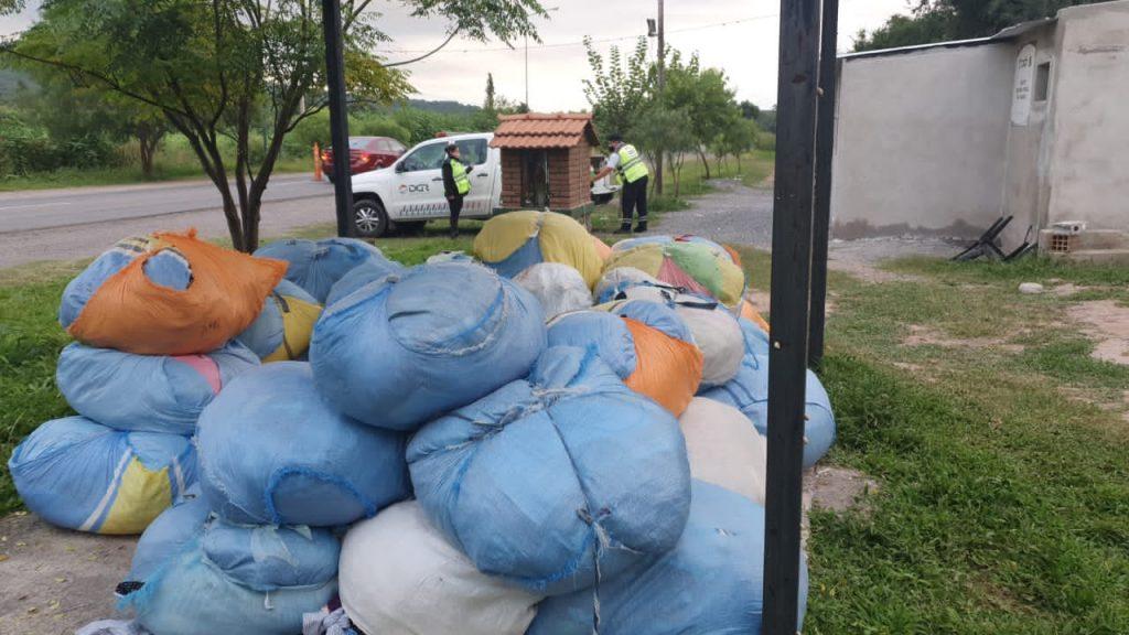 El móvil itinerante de Rentas continúa los controles contra el comercio ilegal en toda la Provincia