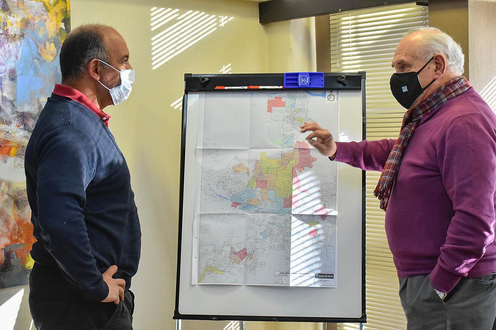 Planifican el cambio de 330.000 metros lineales de cañerías en Capital
