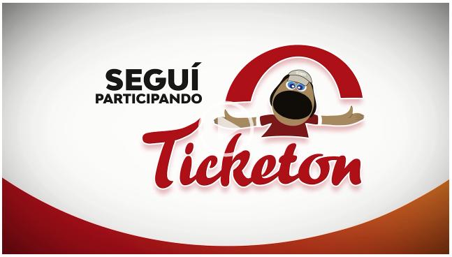 Segui Participando del Ticketón!!!!